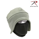 [Rothco] Convertible Fleece Cap And Polyester Face Mask FG - �ν��� �����ͺ� �ø��� ĸ (����ũ ����/FG)