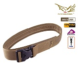 [FLYYE] Duty Belt With Security Buckle Coyote Brown - ��ť��Ƽ ��Ŭ ��Ƽ ��Ʈ �ڿ��� ����