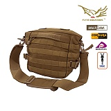 [FLYYE] Versatile Shoulder Accessories Bag Coyote Brown - �ٿ뵵 ����� �ڿ��� ����