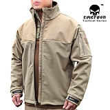 [Emerson] Rangers Reload Soft Shell Jacket Coyote - ���ӽ� ������ ����Ʈ�� ���� (�ڿ���)