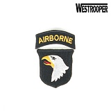 [WestRooper��] 101 AIR BORNE PATCH  - 101 �� ������� ��ġ