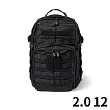 [5.11 Tactical] RUSH 12 Back Pack Black - ���� 12 ���� (Black)