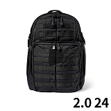 [5.11 Tactical] RUSH 24 Back Pack Black - ���� 24 ���� (Black)
