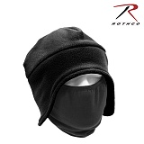 [Rothco] Convertible Fleece Cap And Polyester Face Mask Black - �ν��� �����ͺ� �ø��� ĸ (����ũ ����/�?)