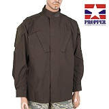 프로퍼(Propper) [Propper] Tac U Coat 65P/35C (Brown)- 프로퍼 Tac U 셔츠 (브라운)
