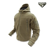 [CONDOR] Sierra Hooded Fleece Jacket TAN - �ܵ��� �ÿ��� �ĵ� ��ü�� �ø������� (TAN)