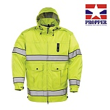 프로퍼(Propper) [Propper] PROPPER Defender Halo I Long Hi-Vis Rain Jacket - 프로퍼 디펜더 하이비즈 자켓