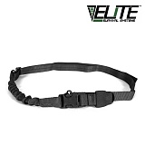 엘리트서바이벌(Elite Survival System) [Elite Survival Systems] Single Point Tactical Sling With Bungee (Black) - 싱글 포인트 택티컬 슬링 (블랙)