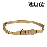 엘리트서바이벌(Elite Survival System) [Elite Survival Systems] Single Point Tactical Sling With Bungee (Coyote) - 싱글 포인트 택티컬 슬링 (코요테)