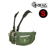 립즈(RIBZ Wear) [Ribz] New Front Pack Small (Green) - 립즈 New 프론트팩 스몰 (그린)