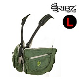 립즈(RIBZ Wear) [Ribz] New Front Pack Large (Green) - 립즈 New 프론트팩 라지 (그린)