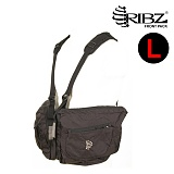 립즈(RIBZ Wear) [Ribz] New Front Pack Large (Black) - 립즈 New 프론트팩 라지 (블랙)