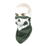 브랜드없음(No Brand) Skull Reflective Cool Neck Scarf (OD) - 쿨론 반사체 해골 두건 (OD)