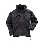 511 택티컬(511 Tactical) [5.11 Tactical] 3-IN-1 Parka (Black) - 5.11 택티컬 3-In-1 파카 (블랙)