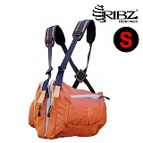 립즈(RIBZ Wear) [Ribz] New Front Pack Small (Orange) - 립즈 New 프론트팩 스몰 (오렌지)