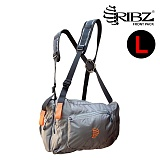 립즈(RIBZ Wear) [Ribz] New Front Pack Large (Gray) - 립즈 New 프론트팩 라지 (그레이)