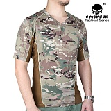 에머슨(EMERSON) [Emerson] Skin Tight Base Layer Camo Running Shirts (Multicam) - 에머슨 익스트리멈 반팔 티셔츠 (멀티캠)