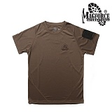 맥포스(MAGFORCE) [Magforce] SOS Short T-shirt (TAN) - 맥포스 SOS 반팔 티셔츠 (TAN)