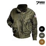 726기어(726GEARS) [726 Gear] NAVAL Airforce Flight Jacket