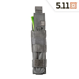 511 택티컬(511 Tactical) [5.11 Tactical] MP5 Bungee Cover Single (Storm) - 5.11 택티컬 MP5 번지 커버 싱글 (스톰)