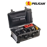 펠리칸(PELICAN) [Pelican] 1510SC Carryon Hard Case (Black) - 펠리칸 1510SC 미듐 케리온 하드케이스 블랙 (Padded Dividers)