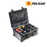 펠리칸(PELICAN) [Pelican] 1560SC Carryon Hard Case (Black) - 펠리칸 1560SC 라지 케리온 하드케이스 블랙 (Padded Dividers)