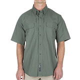 511 택티컬(511 Tactical) ♣[5.11 Tactical] Short Sleeve Shirt (OD) - 5.11 택티컬 숏 슬리브 셔츠 (OD)