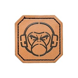 밀스펙 몽키(Mil Spec Monkey) [Mil-Spec Monkey] Monkey Head 2inch Square Leather - 밀스펙 몽키 몽키 헤드 2인치 가죽