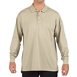 511 택티컬(511 Tactical) [5.11 Tactical] Tactical Long sleeve Polo (Silver Tan) - 택티컬 롱 슬리브 폴로 (실버 탄)